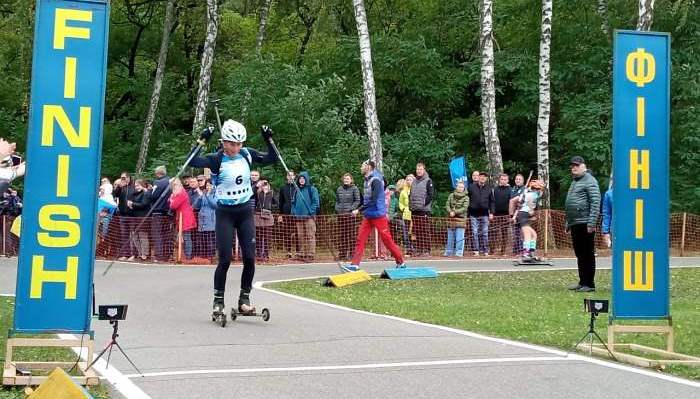 Вита Семеренко выиграла гонку преследования на летнем чемпионате мира по биатлону
