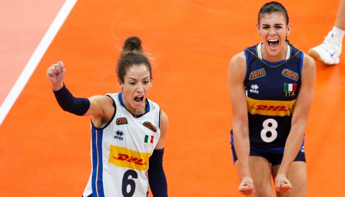 Італія перемогла Сербію у фіналі жіночого чемпіонату Європи з волейболу