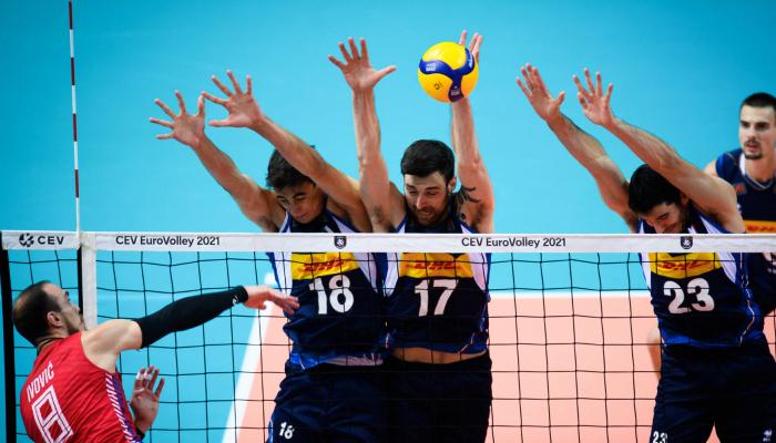 Италия сыграет со Словенией в финале чемпионата Европы по волейболу