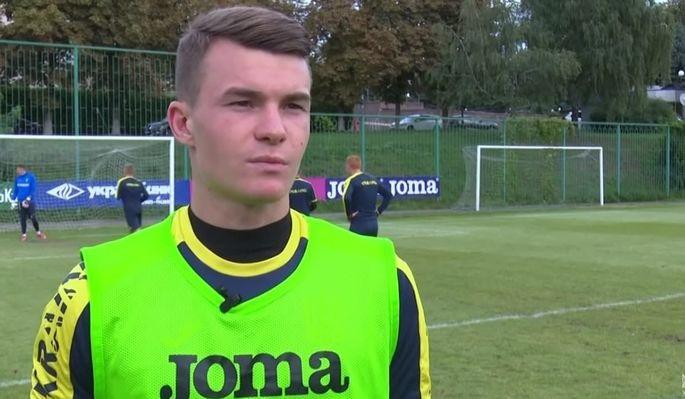 Кочергин: Рад дебютировать за сборную Украины. Но из-за результата настроение смешанное