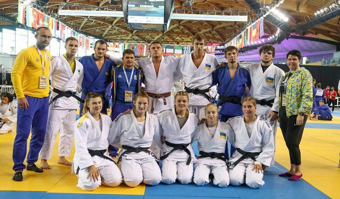 Україна виграла чотири медалі на молодіжному чемпіонаті Європи з дзюдо