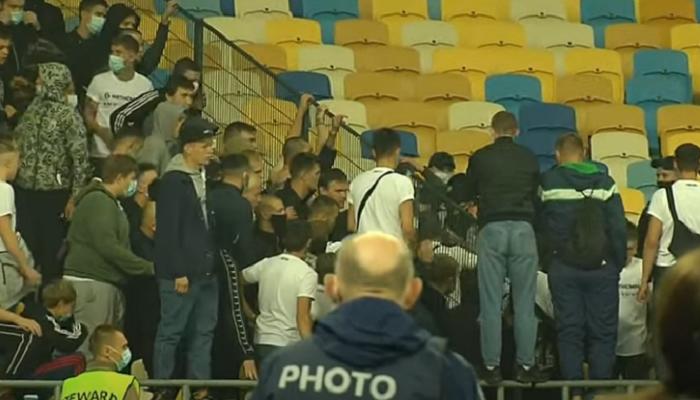 Открыто криминальное производство по факту хулиганских действий на матче Динамо — Александрия