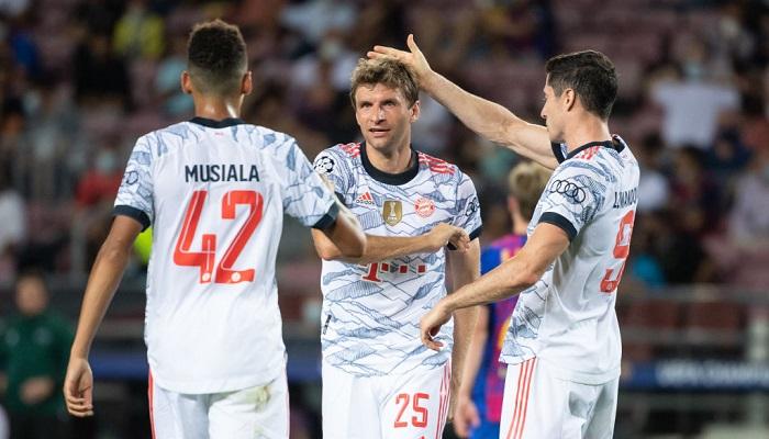 Баварія забила в 23-му матчі ЛЧ поспіль і встановила новий клубний рекорд