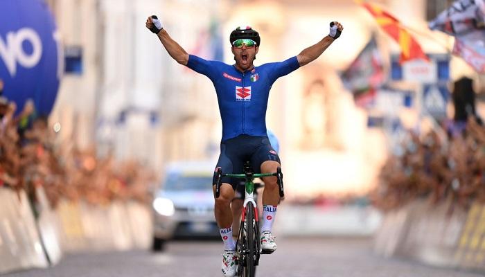 Італієць Колбреллі став чемпіоном Європи в груповій велогонці
