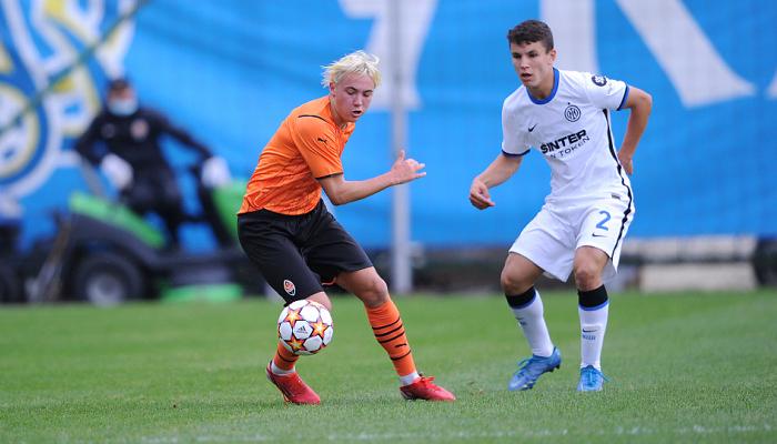 Шахтер U-19 проиграл Интеру в Юношеской лиге УЕФА