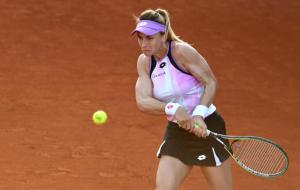 Цуренко вышла в четвертьфинал турнира в Румынии