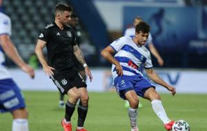 Чеберко забил дебютный гол за Осиек