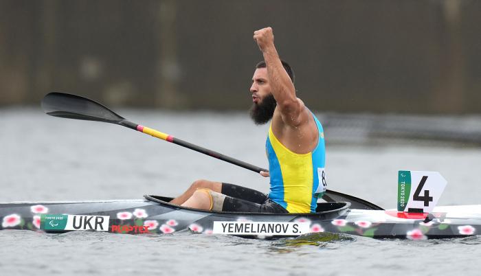 Украинец Емельянов — паралимпийский чемпион в параканоэ