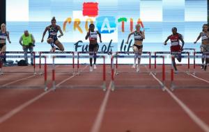 Рыжикова заняла второе место в беге на 400 метров с барьерами на турнире в Загребе