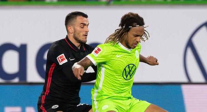 Вольфсбург зіграв внічию з Айнтрахтом і піднявся на друге місце в Бундеслізі