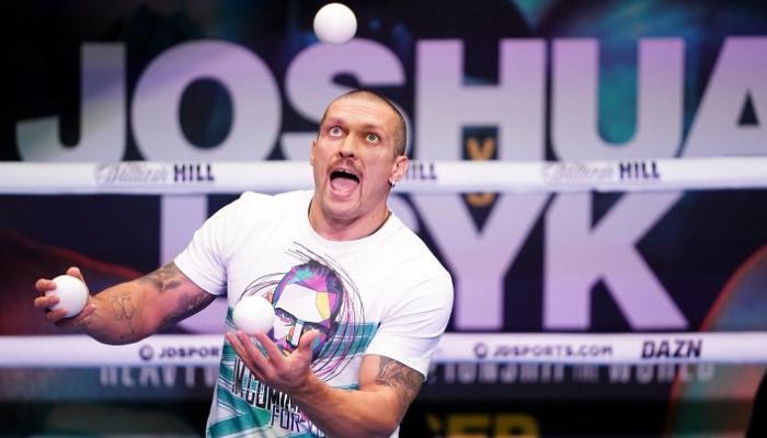Усик: Джошуа может делать на ринге все, что он желает. А я буду делать то, что я буду делать