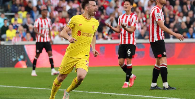 Ливерпуль в результативном матче сыграл вничью с Брентфордом