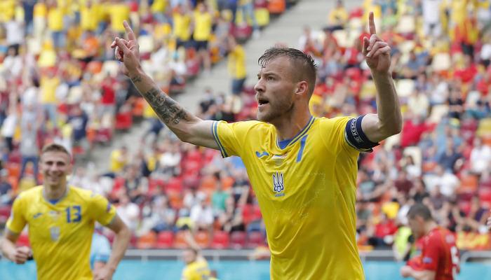 Ярмоленко провел сотый матч за сборную Украины