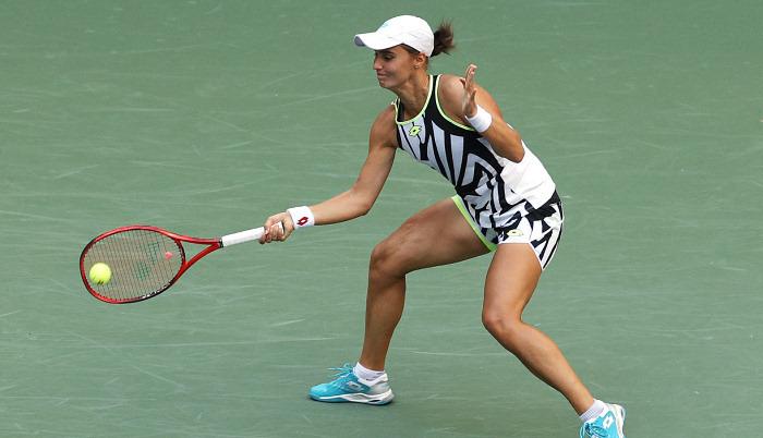 Калинина вышла во второй круг турнира в Портороже