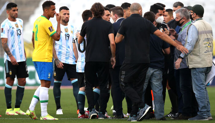 ФИФА открыла дисциплинарное дело после срыва матча Бразилия — Аргентина