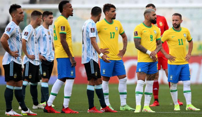 Матч Бразилия — Аргентина не будет доигран сегодня. Судьбу встречи решит ФИФА