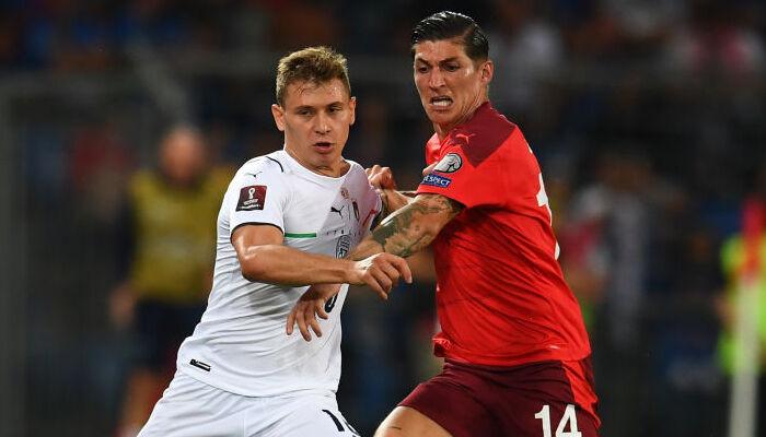 Италия на выезде сыграла вничью со Швейцарией