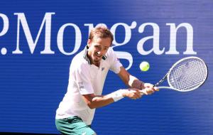 Перемога Медведєва над Ван де Зандшульпом в 1/4 фіналу US Open (відео)