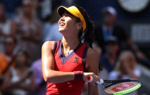 Перемога Радукану над Саккарі у півфіналі US Open (відео)