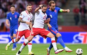 Польша — Англия. Видео обзор матча за 8 сентября