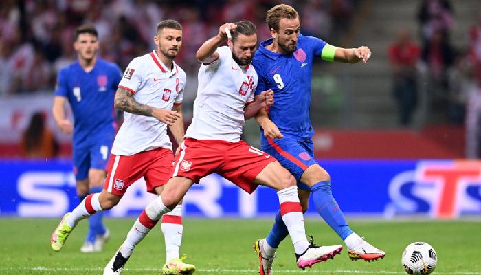 Англія втратила перемогу над Польщею