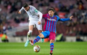 Барселона спасла ничью в матче с Гранадой