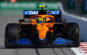 Норріс виграв кваліфікацію Гран-прі Росії. Це перший поул британця в Формулі-1