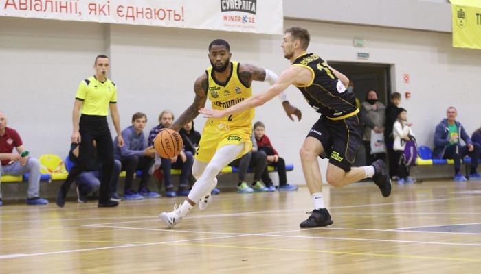 Киев-Баскет победил Тернополь на старте Суперлиги