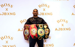 Джошуа подписал новое соглашение с Matchroom Boxing