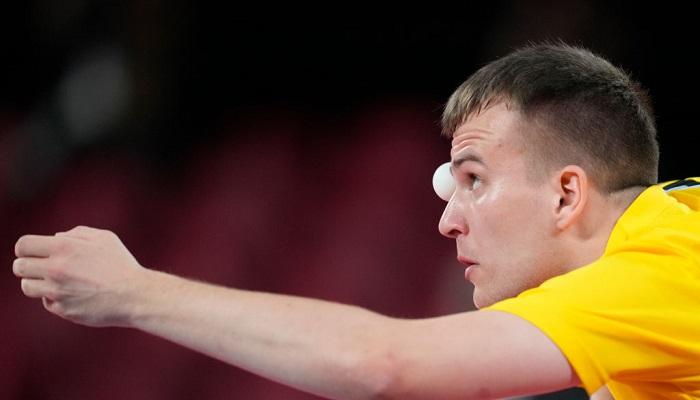 Украинцы Май и Кац выиграли бронзу Паралимпиады в настольном теннисе