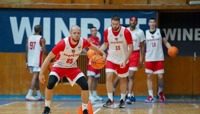 Прометей сегодня стартует в квалификации баскетбольной Лиги чемпионов