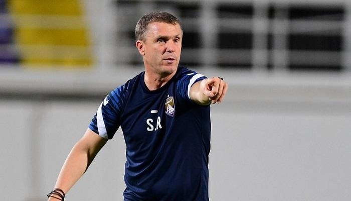 Реброва признали тренером месяца в чемпионате ОАЭ