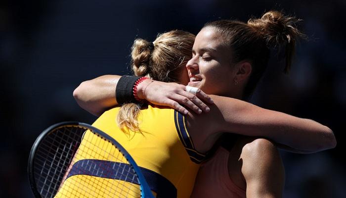 Саккарі вибила Квітову в третьому колі US Open