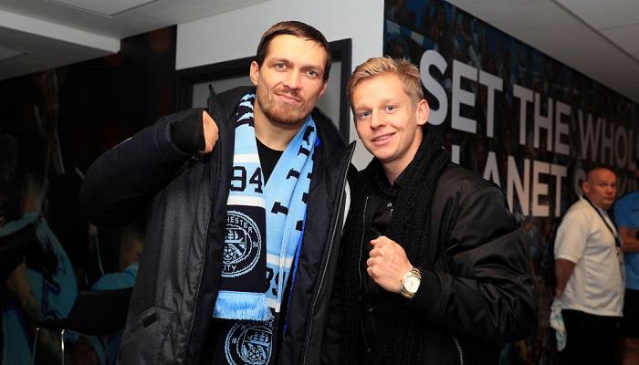"""""""Немає слів"""". Зінченко привітав Усика з перемогою над Джошуа"""