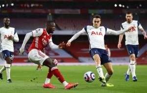 Арсенал — Тоттенхэм 3:1 онлайн трансляция матча