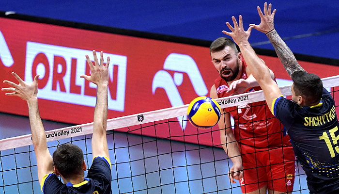 Україна поступилася Сербії в другому матчі чемпіонату Європи з волейболу