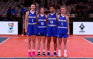 Жіноча збірна України U-17 вийшла в чвертьфінал чемпіонату Європи з баскетболу 3х3