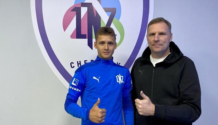 ЛНЗ подписал контракт с 16-летним форвардом Фанталиным и отдал его в аренду в черкасский Днепр