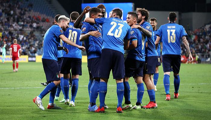 Італія розгромила Литву у відборі на ЧС і продовжила свою безпрограшну серію до 37 матчів