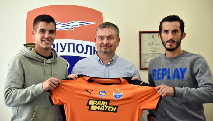 Маріуполь підписав хорвата Босанчіча і македонця Спировски