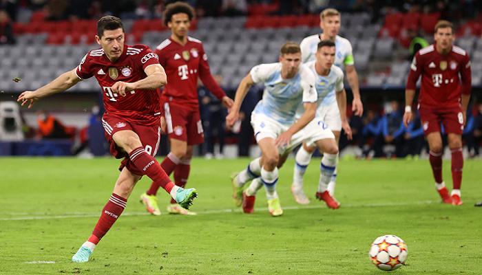 Динамо розгромно поступилося Баварії на виїзді у групі Ліги чемпіонів