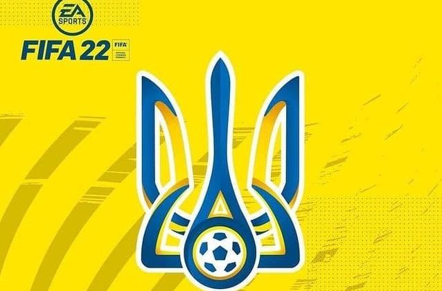 Сборная Украины будет представлена в FIFA 22