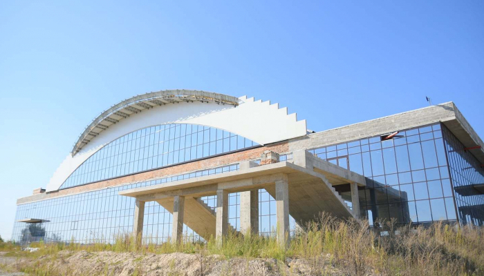 В Ровно возобновили строительство Дворца спорта