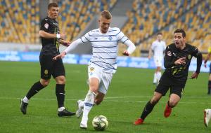 Рух — Динамо 0:2 онлайн трансляция матча