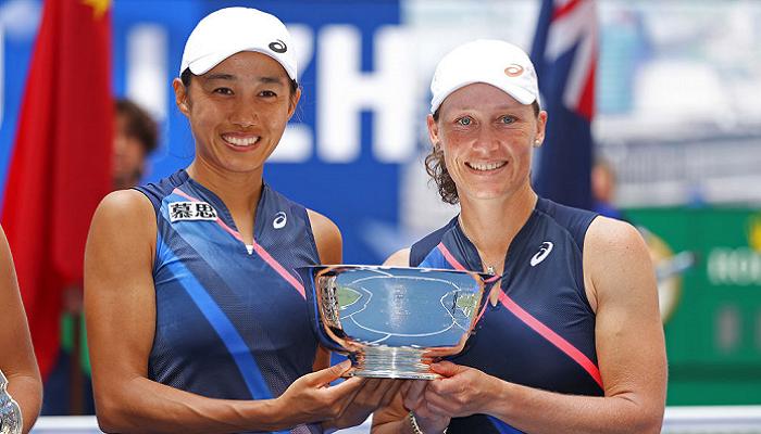 Стосур і Шуай виграли US Open в жіночому парному розряді