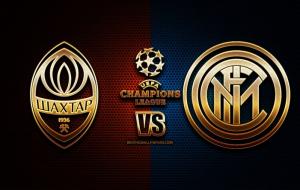 Шахтер – Интер когда и где смотреть в прямом эфире трансляцию Лиги чемпионов. Megogo