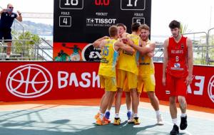 Чоловіча та жіноча збірні України U-17 вийшли в півфінал чемпіонату Європи з баскетболу 3х3