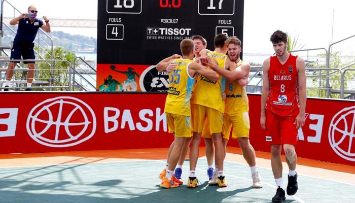 Мужская и женская сборные Украины U-17 вышли в полуфинал чемпионата Европы по баскетболу 3х3