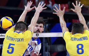 Досадное поражение Украины от России в 1/8 финала чемпионата Европы по волейболу (видео)