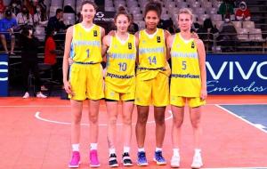 Жіноча збірна України U-17 поступилася в матчі за третє місце ЧЄ з баскетболу 3х3
